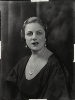 Muriel Elsie (née Hirst), Lady Gamage, by Bassano Ltd - NPG x151196
