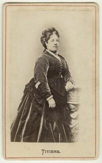 (Johanna) Therese Carolina Tietjens (Titiens), by Unknown photographer - NPG Ax46234