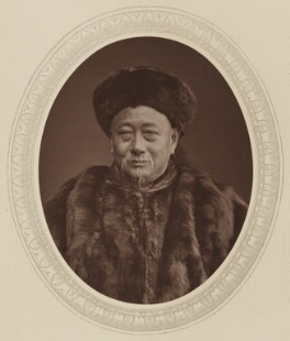 Kuo Sung-tao, by Lock & Whitfield, published by  Sampson Low, Marston, Searle and Rivington, published 1880 - NPG Ax17602 - © National Portrait Gallery, London