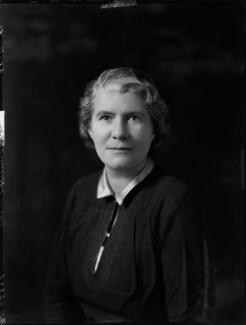 Mary Constance Cunliffe-Lister (née Boynton), Countess Swinton, by Bassano Ltd - NPG x151217