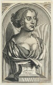 Katherine Philips (née Fowler), after William Faithorne - NPG D22900