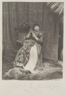 Caroline Blanche Elizabeth (née FitzRoy), Lady Lindsay, by Cyril Flower, 1st Baron Battersea - NPG Ax15711