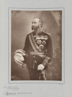 Sir (Henry) Evelyn Wood, by Herbert Rose Barraud, published by  Eglington & Co - NPG Ax5485