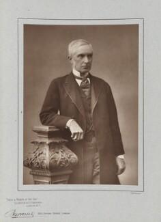 Sir Edward Fry, by Herbert Rose Barraud, published by  Eglington & Co - NPG Ax5487