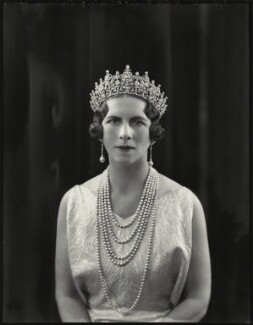 Helen, Queen Mother of Romania (née Princess Helen of Greece), by Bassano Ltd - NPG x151234