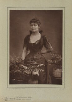 Louise Jane Jopling (née Goode, later Rowe), by Herbert Rose Barraud, published by  Eglington & Co - NPG Ax5495