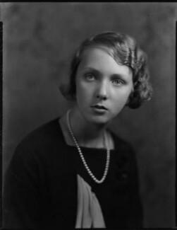 Lady Iris Victoria Beatrice Grace Kemp (née Mountbatten), by Bassano Ltd - NPG x151238