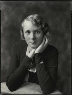 Lady Iris Victoria Beatrice Grace Kemp (née Mountbatten), by Bassano Ltd - NPG x151239