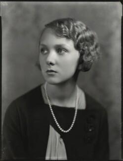 Lady Iris Victoria Beatrice Grace Kemp (née Mountbatten), by Bassano Ltd - NPG x151241
