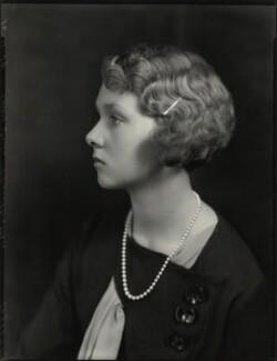 Lady Iris Victoria Beatrice Grace Kemp (née Mountbatten), by Bassano Ltd - NPG x151242