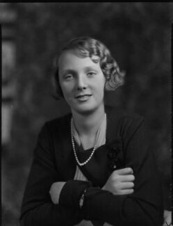 Lady Iris Victoria Beatrice Grace Kemp (née Mountbatten), by Bassano Ltd - NPG x151244