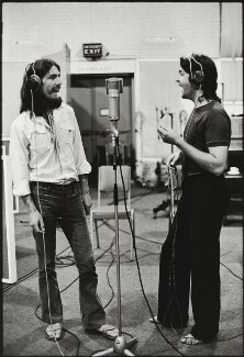 George Harrison; Paul McCartney, by Linda McCartney - NPG x128733
