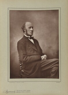 (William) Edward Hartpole Lecky, by Herbert Rose Barraud, published by  Eglington & Co - NPG Ax5505