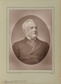Friedrich Max-Müller, by Herbert Rose Barraud, published by  Eglington & Co - NPG Ax5506