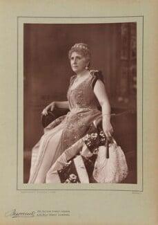 Dame (Lucy) Genevieve Teresa Ward, Countess de Guerbel, by Herbert Rose Barraud, published by  Eglington & Co - NPG Ax5507
