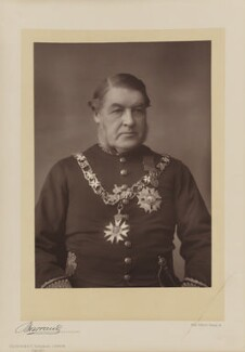 Sir Charles Tupper, 1st Bt, by Herbert Rose Barraud, published by  Eglington & Co - NPG Ax5514
