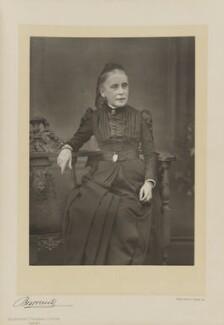 Katharine Sarah Macquoid (née Thomas), by Herbert Rose Barraud, published by  Eglington & Co - NPG Ax5519
