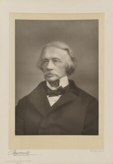Coventry Kersey Deighton Patmore, by Herbert Rose Barraud, published by  Eglington & Co, published 1891 - NPG Ax5520 - © National Portrait Gallery, London