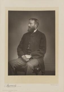 Michael Edward Hicks Beach, 1st Earl St Aldwyn, by Herbert Rose Barraud, published by  Eglington & Co - NPG Ax5521