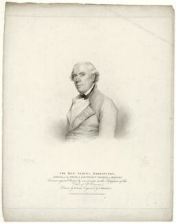 Samuel Barrington, by Gaetano Stefano Bartolozzi, published by  T. Cadell & W. Davies, after  William Evans, after  Gilbert Stuart - NPG D21461