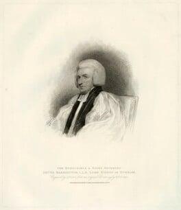 Shute Barrington, by Charles Picart, after  Henry Edridge, published 1810 - NPG D21465 - © National Portrait Gallery, London