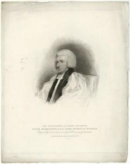 Shute Barrington, by Charles Picart, after  Henry Edridge - NPG D21467
