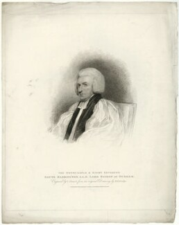 Shute Barrington, by Charles Picart, after  Henry Edridge, published 1810 - NPG D21467 - © National Portrait Gallery, London