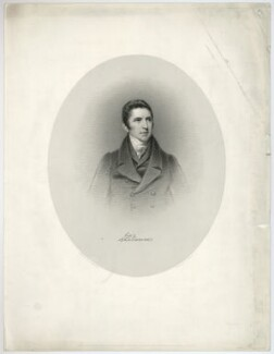 Sir John Barrow, 1st Bt, by W. Joseph Edwards, after  John Jackson - NPG D21477