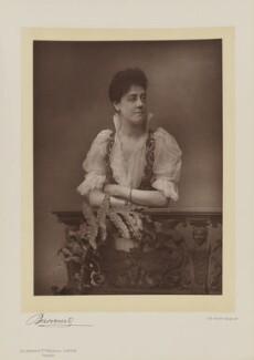 Charlotte Thudichum, by Herbert Rose Barraud, published by  Eglington & Co - NPG Ax5531