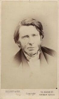 John Ruskin, by Elliott & Fry, 1867 - NPG x13291 - © National Portrait Gallery, London