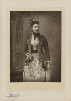 Dame Ishbel Maria (née Marjoribanks), Marchioness of Aberdeen and Temair, by Herbert Rose Barraud, published by  Eglington & Co, published 1891 - NPG Ax5534 - © National Portrait Gallery, London