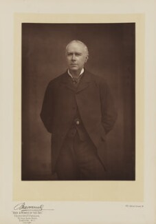 Sir Frank Lockwood, by Herbert Rose Barraud, published by  Eglington & Co - NPG Ax5536