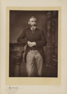 (Charles) Grant Blairfindie Allen, by Herbert Rose Barraud, published by  Eglington & Co, published 1891 - NPG Ax5539 - © National Portrait Gallery, London