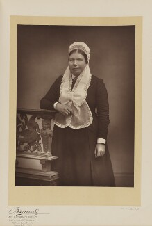 Godiva Marian Thorold, by Herbert Rose Barraud, published by  Eglington & Co - NPG Ax5540