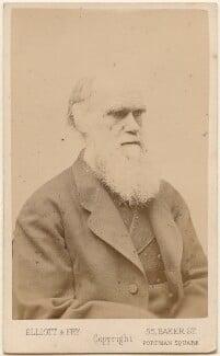 Charles Darwin, by Elliott & Fry - NPG Ax46279