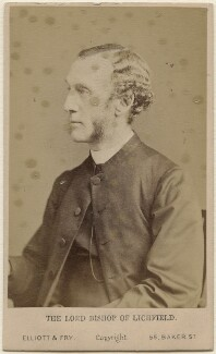 William Dalrymple Maclagan, by Elliott & Fry, 1870s - NPG Ax47053 - © National Portrait Gallery, London