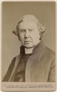 Archibald Campbell Tait, by Elliott & Fry - NPG Ax47063