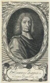 John Ray, by William Elder, after  William Faithorne - NPG D22912