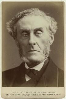 Anthony Ashley-Cooper, 7th Earl of Shaftesbury, by Elliott & Fry, 1882 - NPG x38897 - © National Portrait Gallery, London