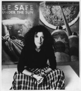 Dame Anita Roddick, by Michael Zinn - NPG x75856