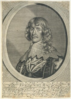 James Stuart, 1st Duke of Richmond and 4th Duke of Lennox, by William Faithorne, after  Sir Anthony van Dyck - NPG D22917