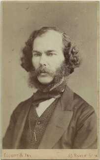 George Henry Lewes, by Elliott & Fry, 1870s - NPG x46621 - © National Portrait Gallery, London