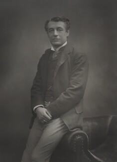 Sir Charles Wyndham (Charles Culverwell), by Herbert Rose Barraud, published by  Eglington & Co - NPG Ax5459
