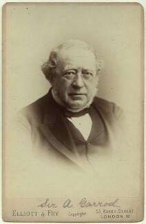 Sir Alfred Baring Garrod, by Elliott & Fry - NPG x38224