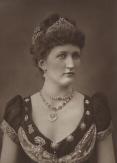 Julia Mary (née Lethbridge), Lady Carew, by Herbert Rose Barraud, published by  Eglington & Co - NPG Ax5461