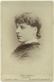 Muriel Frances Louisa Duncombe (née Talbot), Viscountess Helmsley (later Mrs Owen), by Elliott & Fry - NPG x36193