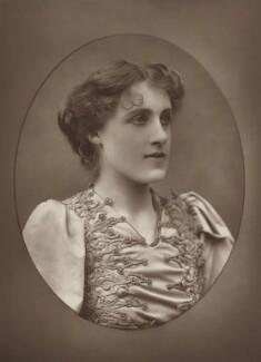 Julia Emilie Neilson, by Herbert Rose Barraud, published by  Eglington & Co - NPG Ax5473