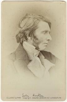 John Ruskin, by Elliott & Fry, (1867) - NPG x35909 - © National Portrait Gallery, London