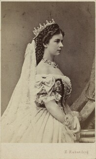 Elisabeth, Empress of Austria, by Emil Rabending, 1867 - NPG  - © National Portrait Gallery, London