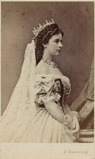 Elisabeth, Empress of Austria, by Emil Rabending, 1867 - NPG x5816 - © National Portrait Gallery, London